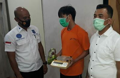 Satres Narkoba Polrestabes Medan Amankan Pemilik 750 Gram Sabu di Desa Marindal Patumbak