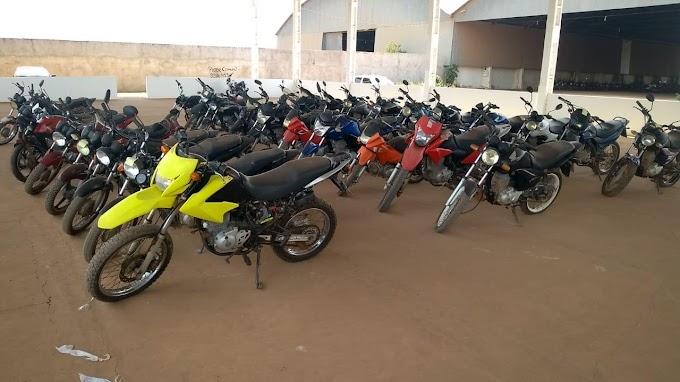 DETRAN irá realizar leilão de 31 motocicletas e 1 carro no dia 30 de setembro em Itaituba