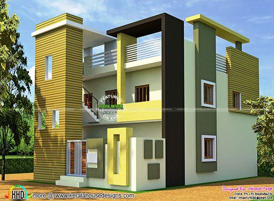 Modern 2400 sq-ft farm house plan