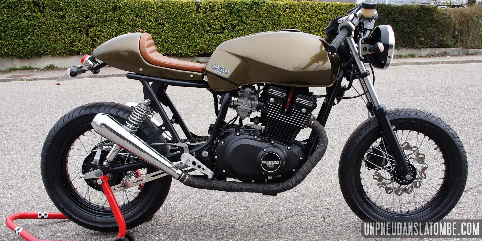 gary's suzuki gsx400 cafe racer - way2speed