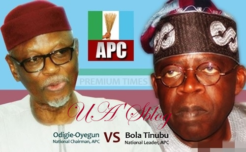 You're Sabotaging My Assignment - Tinubu Blasts Oyegun In Scathing Letter As APC Crisis Worsens