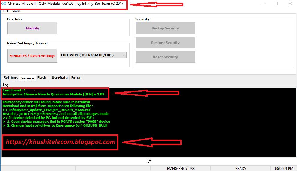 Infinity CM2 qualcomm (CM2QLM) new update V1 09