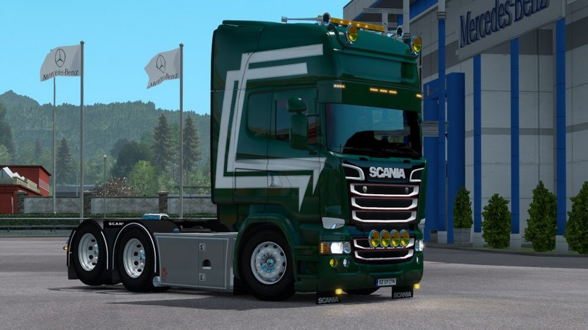 Green Skin for Scania RJL
