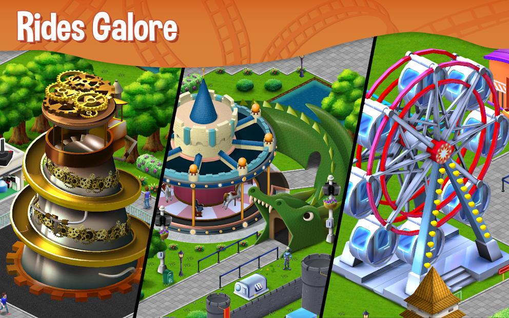 RollerCoaster Tycoon Story Hileli APK v1.2.4980