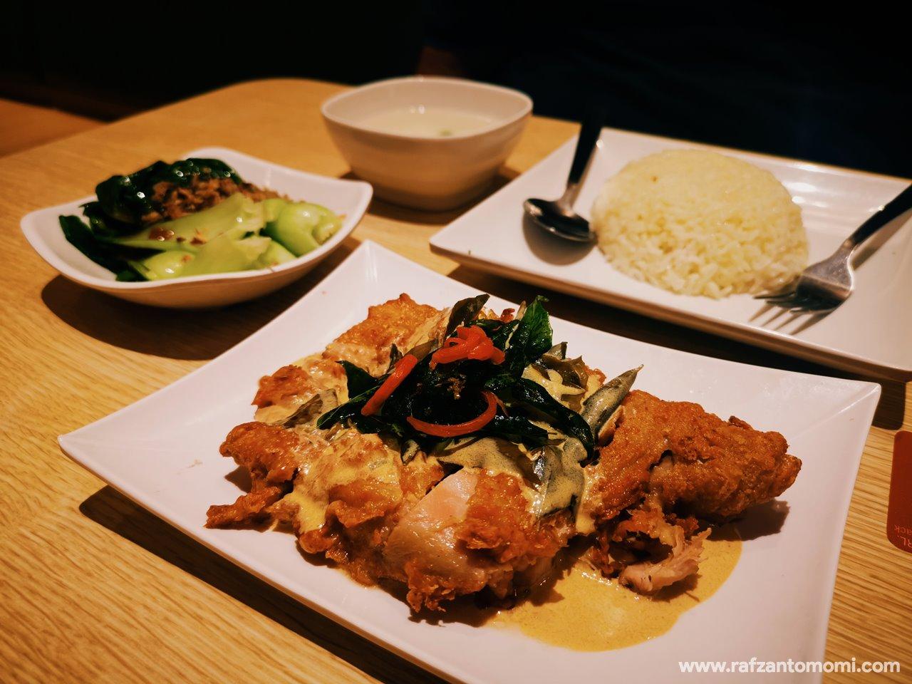 Grilled Butter Chicken, The Chicken Rice Shop