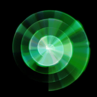 The Archimedean spiral animation with many Perlin noise effects.