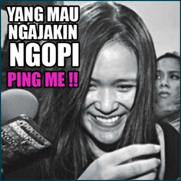 Meme Ngopi Lucu DP BBM Meme Lucu Kopi Sianida Jessica 1524