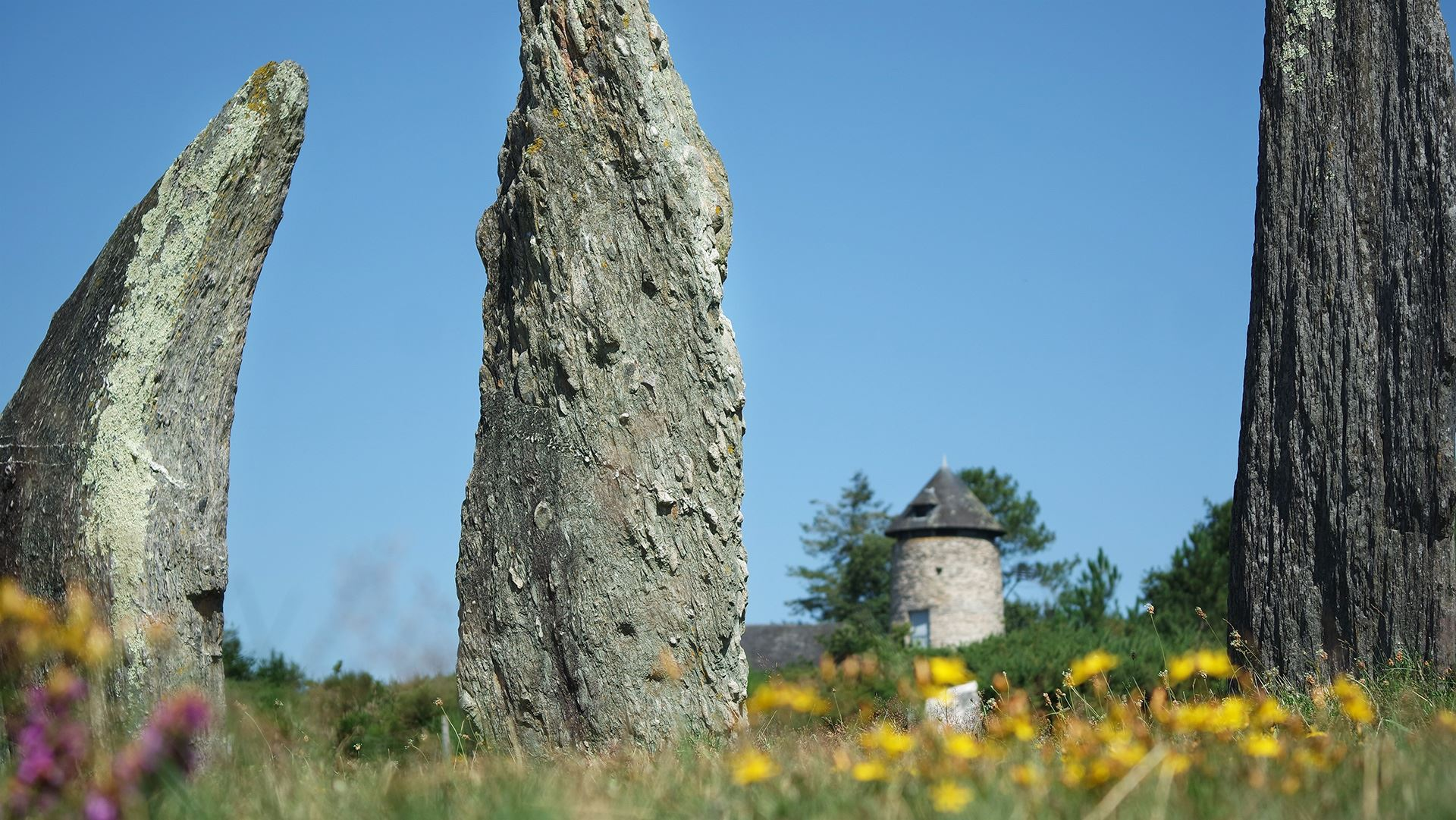 megaliths of Saint-Just