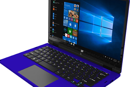 """Ematic 11.6"""" 2-in-1 Laptop (Blue) 2019"""