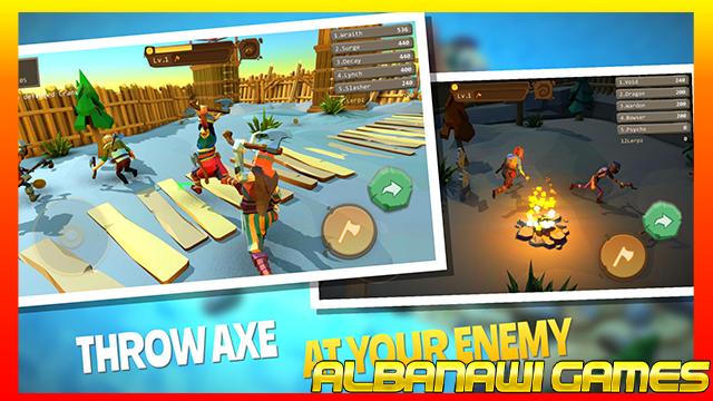 تحميل لعبة AXES.io apk للأندرويد من الميديا فاير