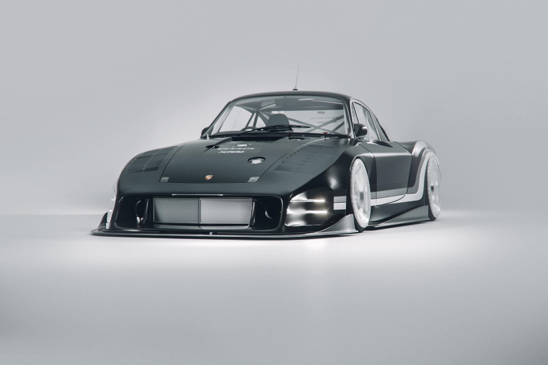 "Bisimoto's Electric Porsche 935 Long Tail ""Moby X"""