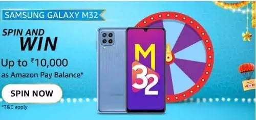 Galaxy M32, the BingeMonster, comes with