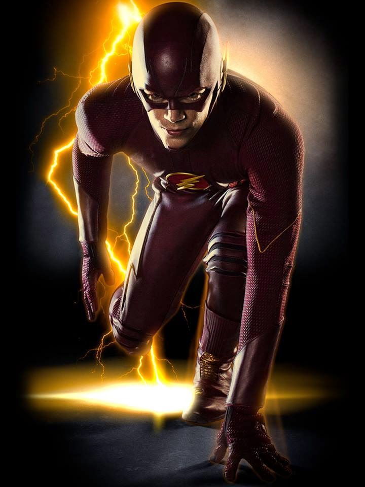 The Flash CW The Flash costume first look poster wallpaper screensaver picture image photo