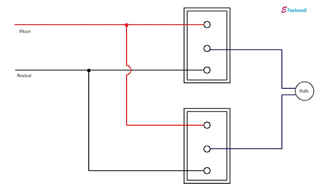 different way to connect two-way switch