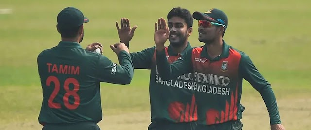 Mehdi and Mostafizur are in the top ten in the ICC bowling rankings