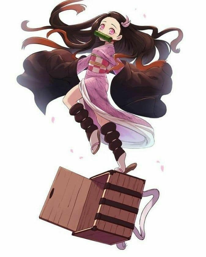 Nezuko Kamado - Fan Art so Cute, so sweet - BlogFanArt