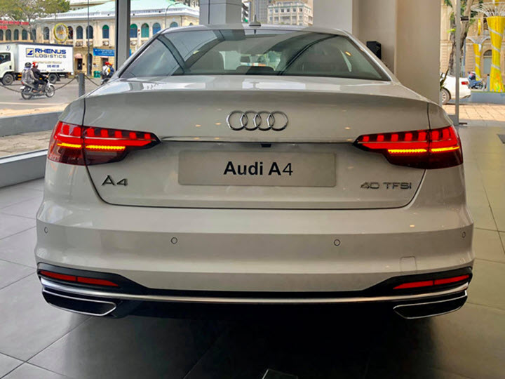 Audi A4 2020 bất ngờ có mặt tại Việt Nam
