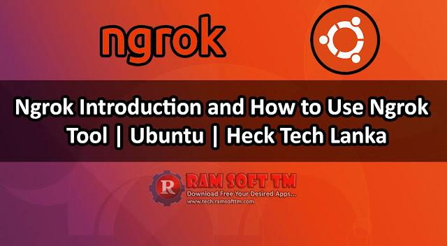 Ngrok Introduction and How to Use Ngrok | Tool | Ubuntu | Heck Tech Lanka