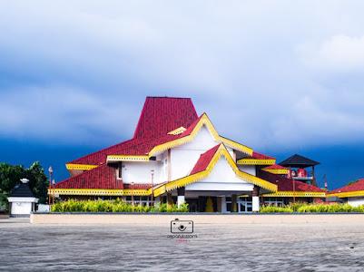 wajah baru gedung taman budaya bengkulu