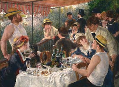 Almuerzo de remeros, 1881
