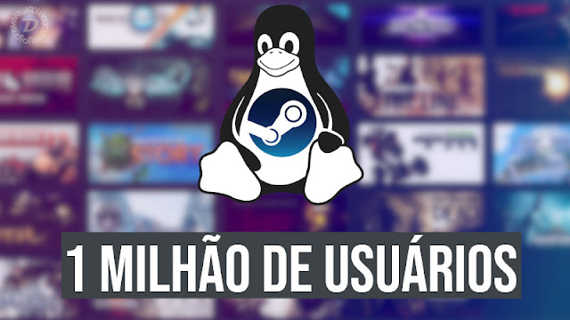Steam já tem mais de 1 milhão de jogadores no Linux