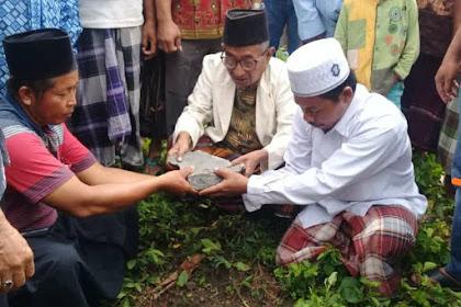 Peletakan Batu Pertama Masjid Jami' Baitu Amin Bengkah