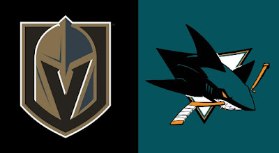 knights vs sharks nhl hockey