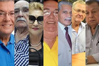 Sete ex-deputados da Paraíba morreram em menos de seis meses em 2020; quatro tiveram Covid-19
