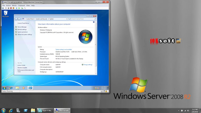 Windows Server 2008 R2 With Feb 2017 Updates direct Download link