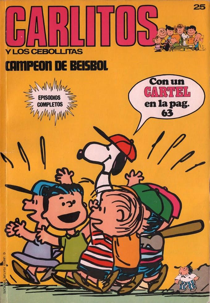 Carlitos y los Cebollitas 25 Campeón de beisbol (Albert-cumumax)