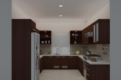 Jasa Design Kitchen set Double L