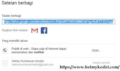 upload ke googledrive
