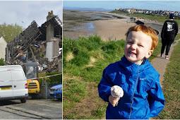 Heysham 'gas explosion': Parents tribute to 'beautiful little angel', 2, killed in blast