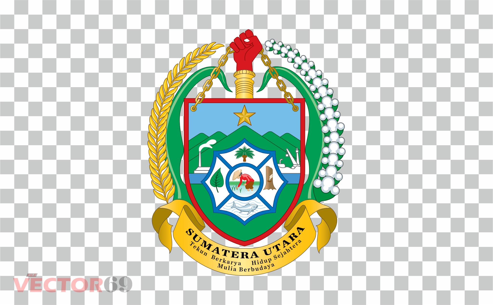 Provinsi Sumatera Utara (Sumut) Logo - Download Vector File PNG (Portable Network Graphics)