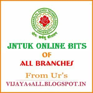 Jntuk 3-1 2nd Mid Online Bits R10 2014 of All Branches ECE, ECM, EEE, MECH, EIE, CSE, IT..