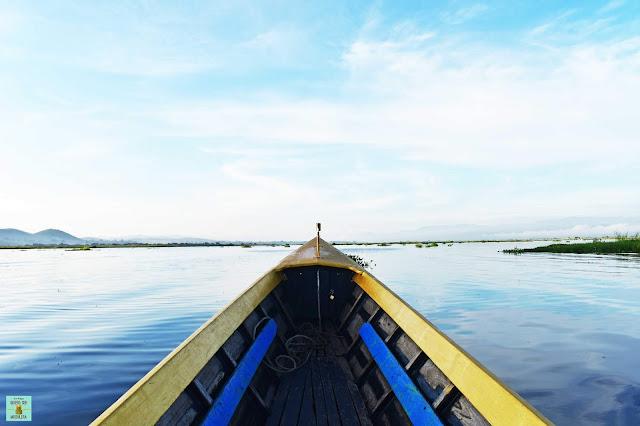 Paseo en barca por el lago Inle, Myanmar