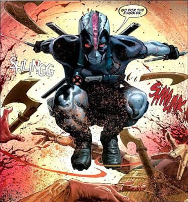 Deadpool cambia de traje en X-Force