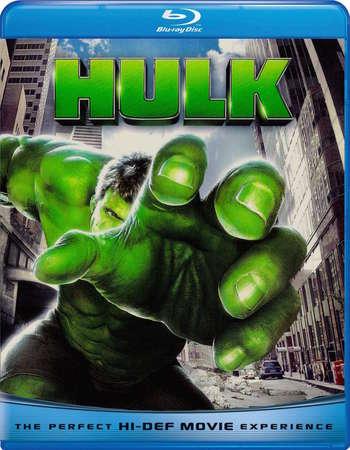 Poster Of Hulk 2003 English 400MB BRRip 480p ESubs Free Download Watch Online