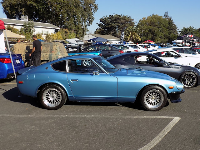 Datsun 240Z at Team District 10's Annual Car Show & Breast Cancer Fundraiser.