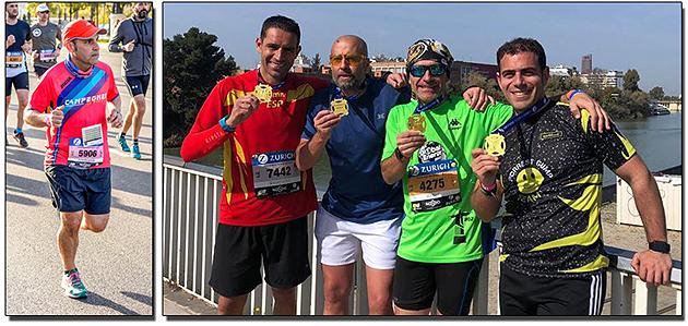 Atletismo Aranjuez Maratón Sevilla