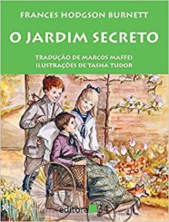 O jardim secreto - capa do livro