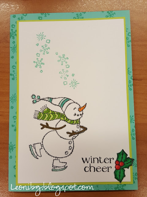 Spirited snowmen | Stampin'Up! | Demonstrator worden?| Winterkaartje | #simplestamping