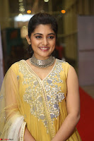 Nivetha Thamos in bright yellow dress at Ninnu Kori pre release function ~  Exclusive (52).JPG