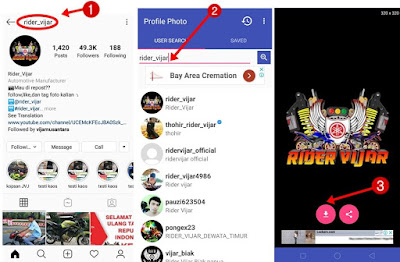 download foto profil instagram