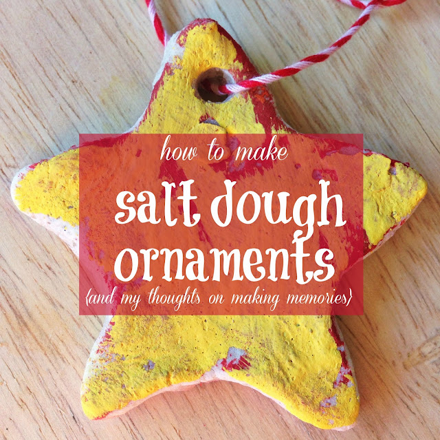 how to make salt dough ornaments and my thoughts on making memories lauren crabtree. Black Bedroom Furniture Sets. Home Design Ideas