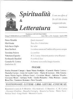 Recuperi/44 - AA.VV., Spiritualità & Letteratura, n. 36