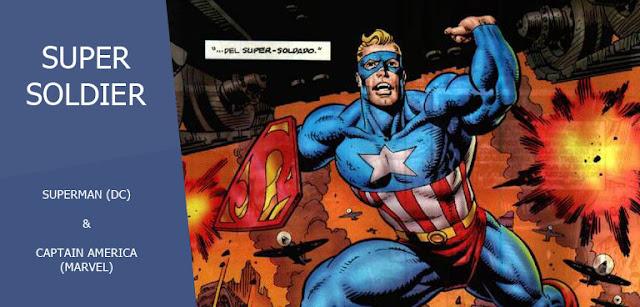 Super Soldier (Clark Kent) dalam Amalgam Universe