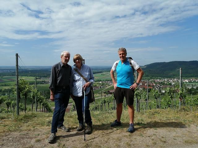Alexander Tauscher auf den Spuren des Weines