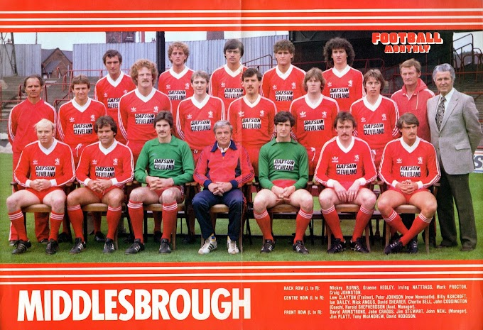 MIDDLESBROUGH F.C 1980-81. By Panini.