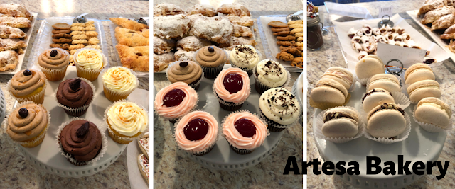 We found Artesa's bakery cases full of tantalizingly gorgeous pastries.